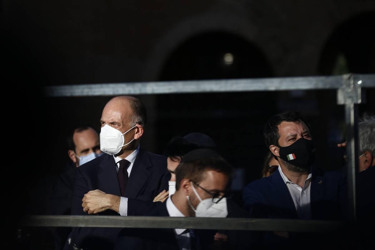 """""""Inaffidabile"""", """"Vuoi scontro"""": """"rissa"""" Letta-Salvini"""