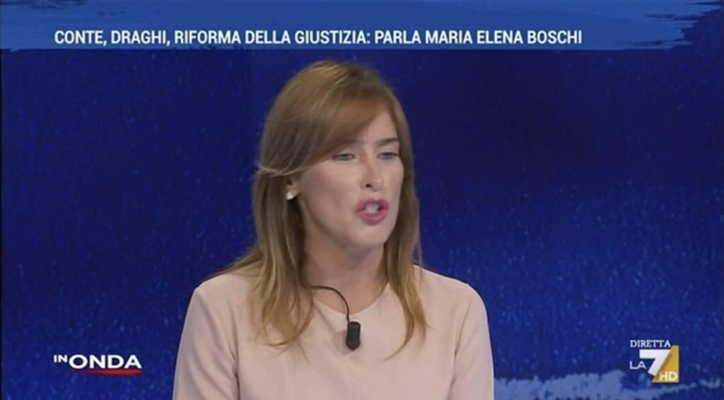 """Risponda alle mie domande"". Lite tv tra Boschi-De Gregorio"
