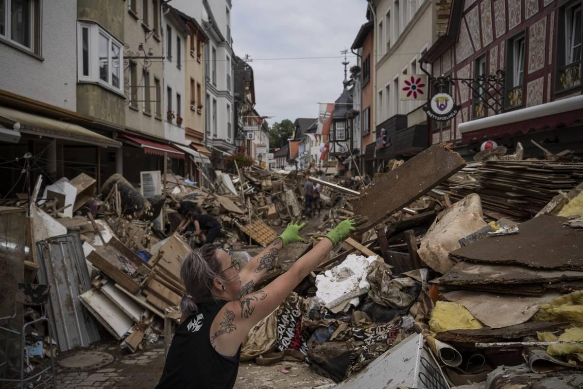 Per gli sfollati dell'alluvione anche l'incubo del contagio
