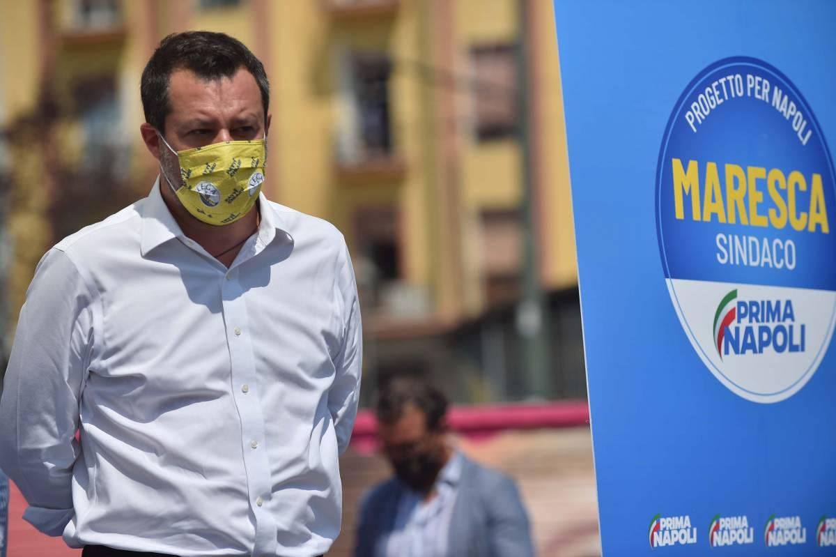 Green pass, Lega in piazza con il placet di Salvini. Ma Draghi tiene il punto