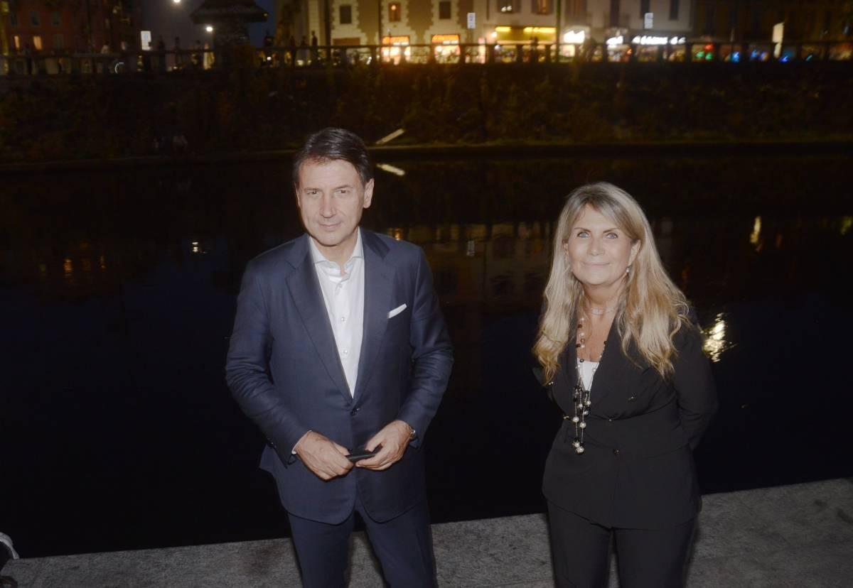 Conte vede nero a Milano e sbaglia pure il cognome della sua candidata sindaco