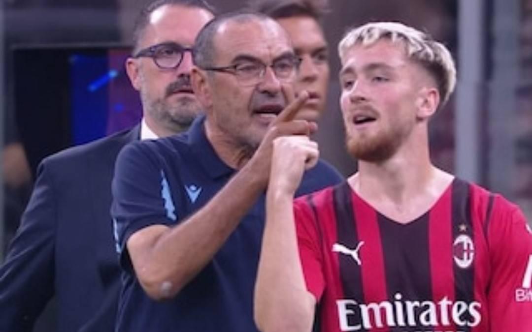 """""""Hai capito?!"""". Furia Sarri: cosa è successo dopo Milan-Lazio"""