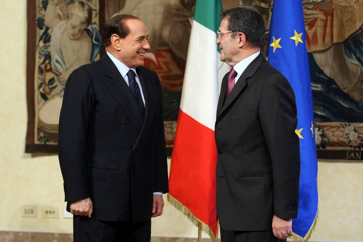 Elogi a Berlusconi: le manovre di Prodi con vista Colle