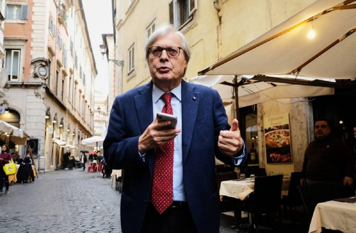 Il parlamentare Vittorio Sgarbi