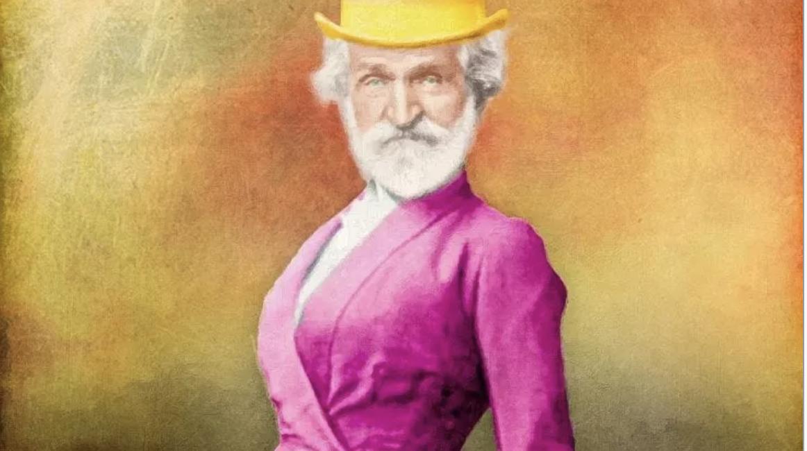"""Altra """"vittima"""" del politically correct: Giuseppe Verdi transex"""