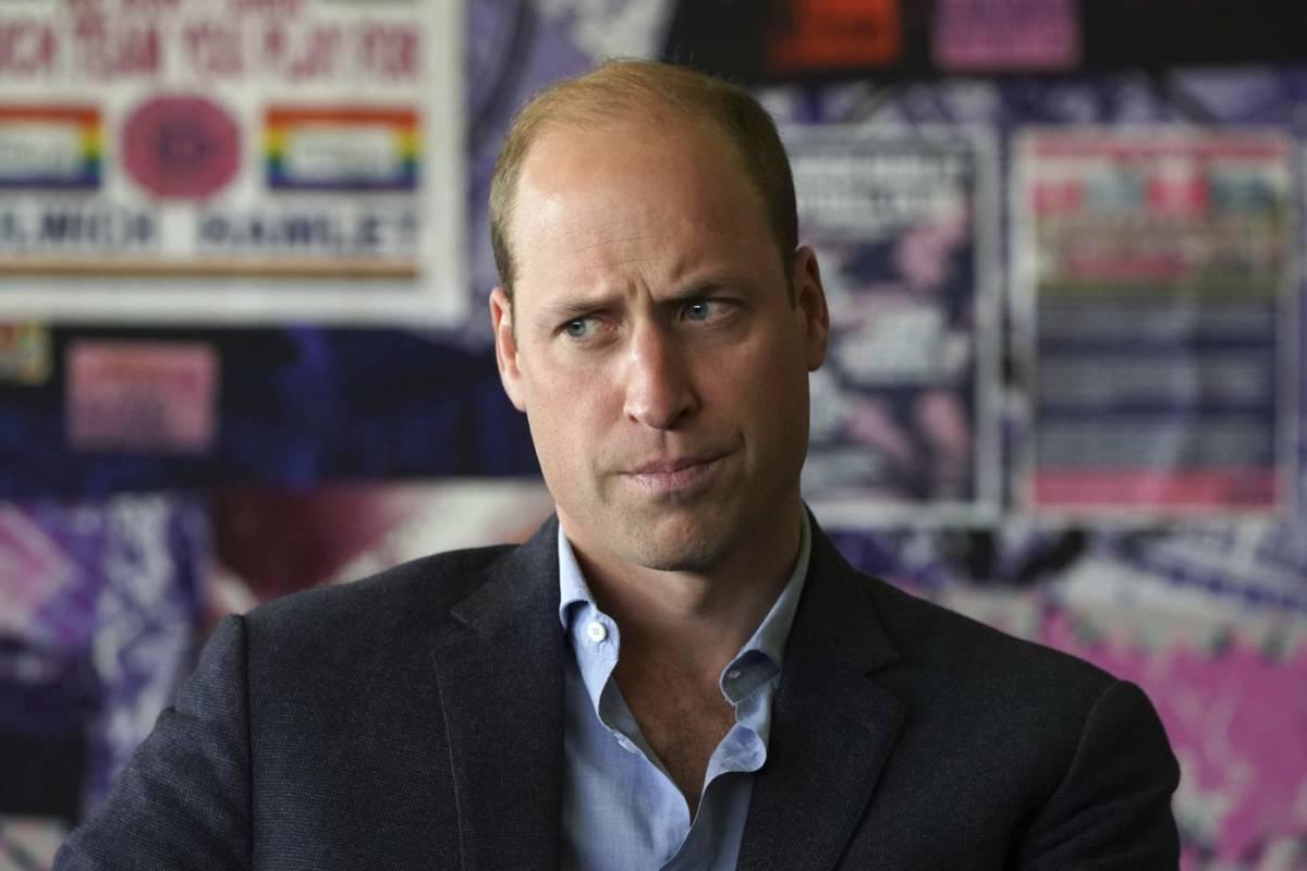 Il principe William fa fuori il figlio della Regina