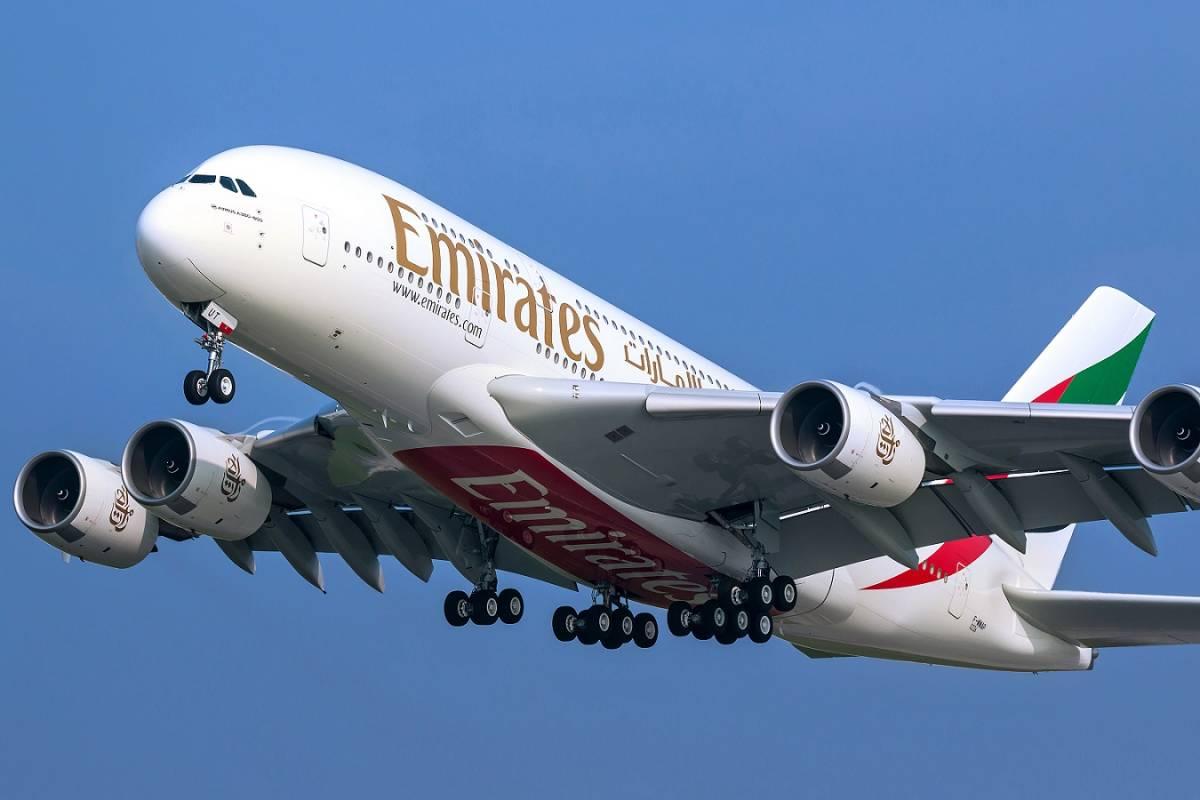 L'A380 di Emirates torna a volare a Malpensa
