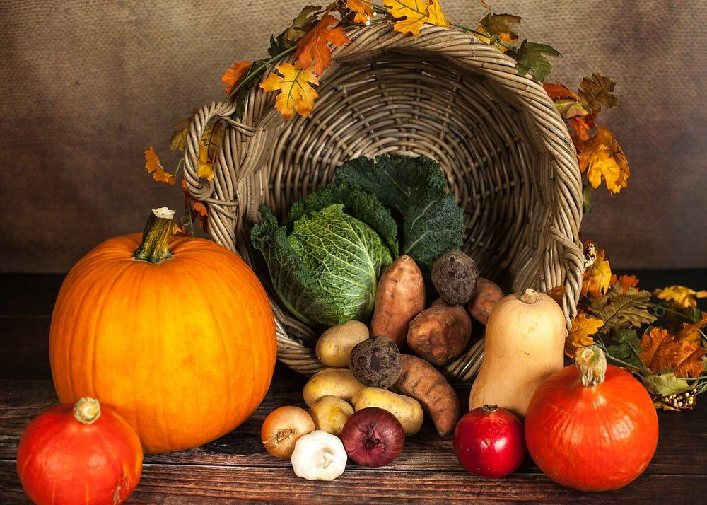Verdura dell'autunno: lista e benefici per gli over 60
