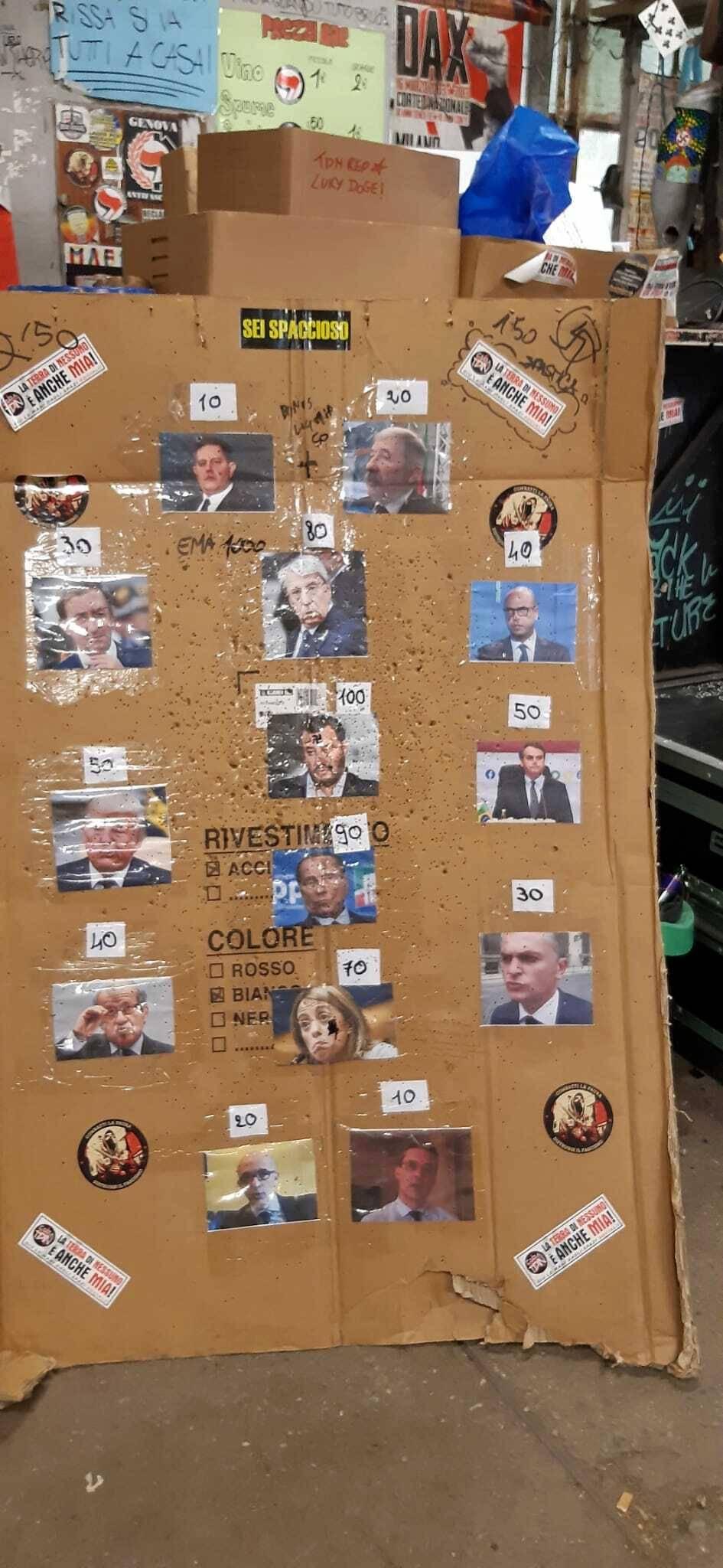 """Ah, valgo 100"": il gioco choc su Salvini"