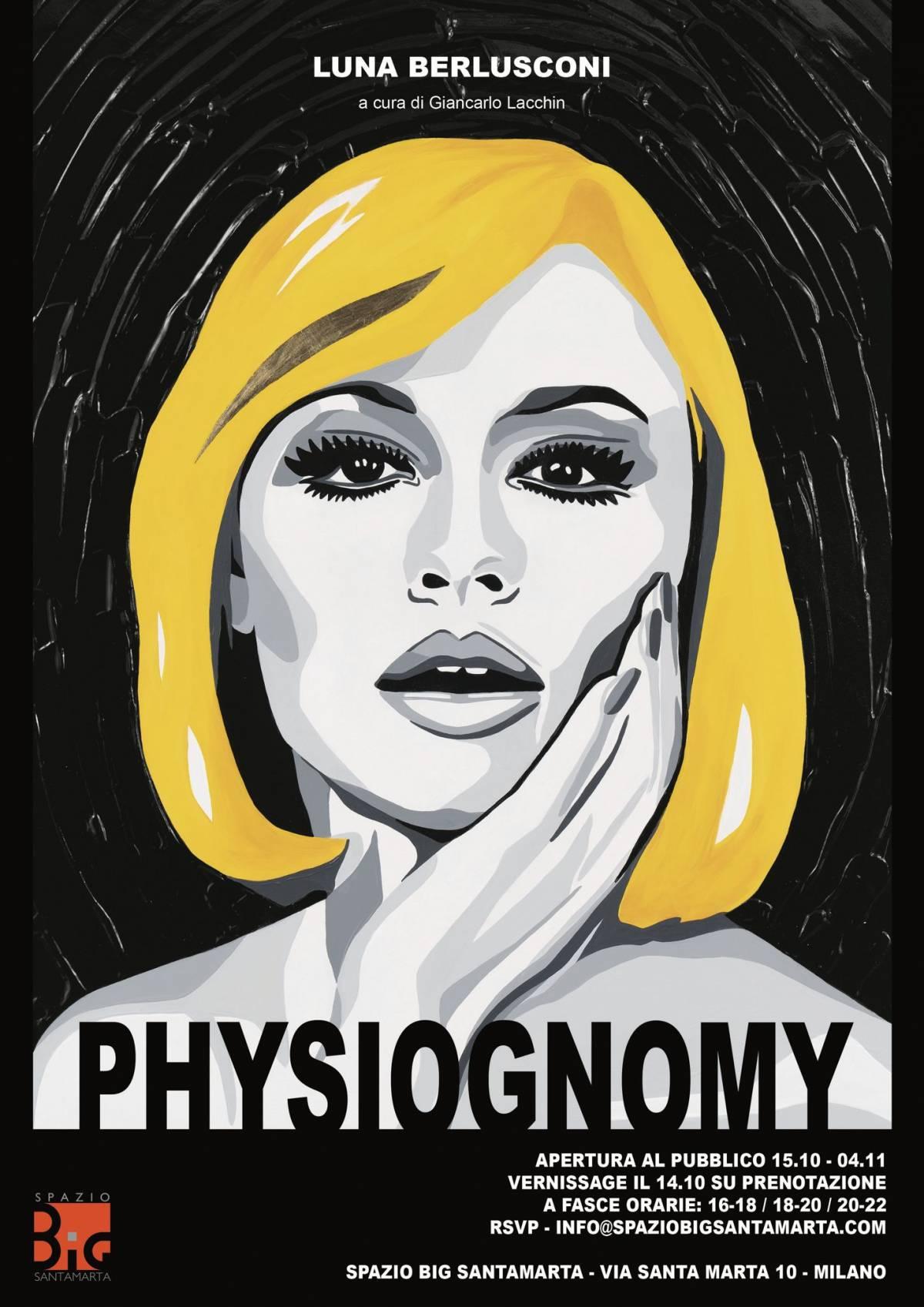 Physiognomy, la nuova esposizione artistica di Luna Berlusconi