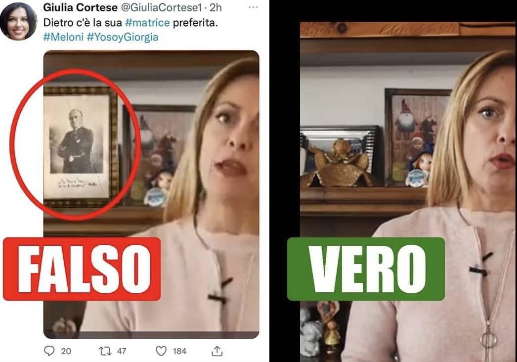 """""""Donnetta, sei bassa..."""": la giornalista """"fake"""" insulta la Meloni"""