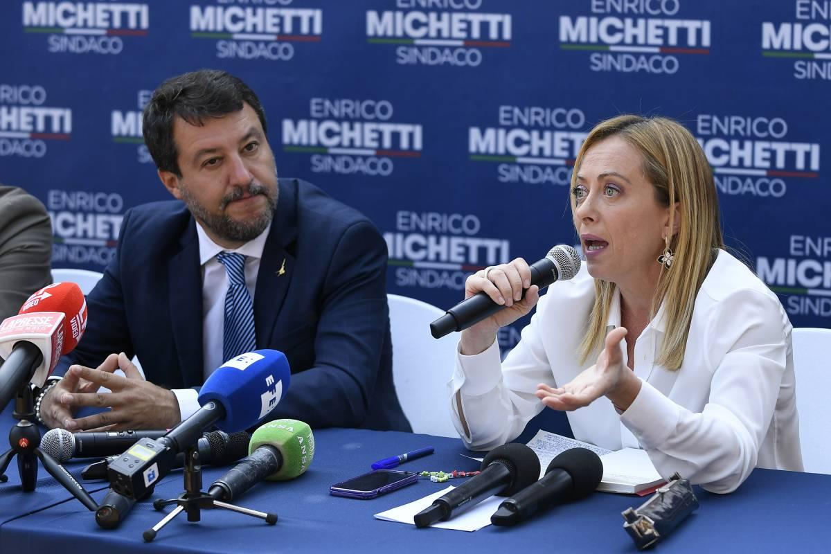 Dopo Salvini, la Meloni: così la sinistra regola i conti fuori dalle urne