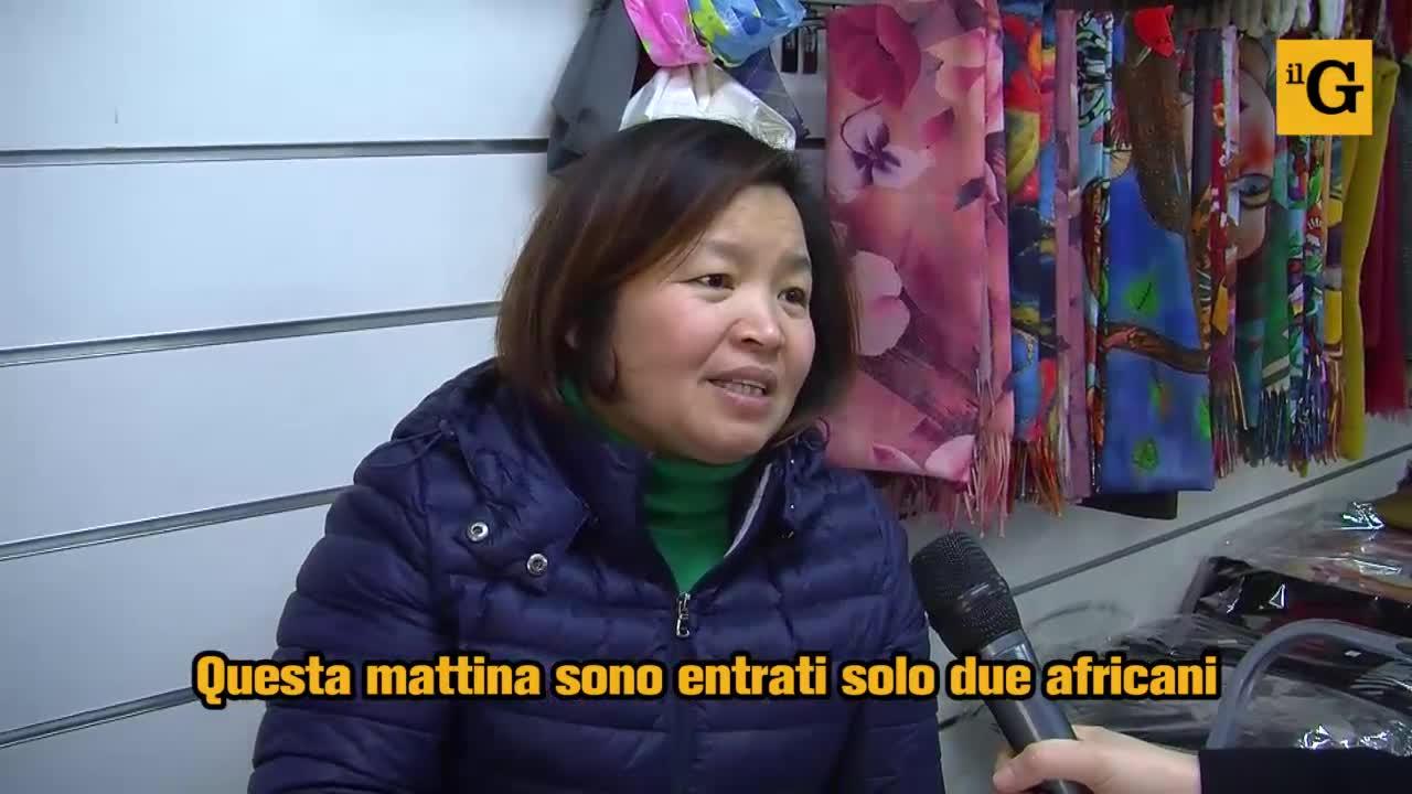 Coronavirus, la crisi dei negozi cinesi