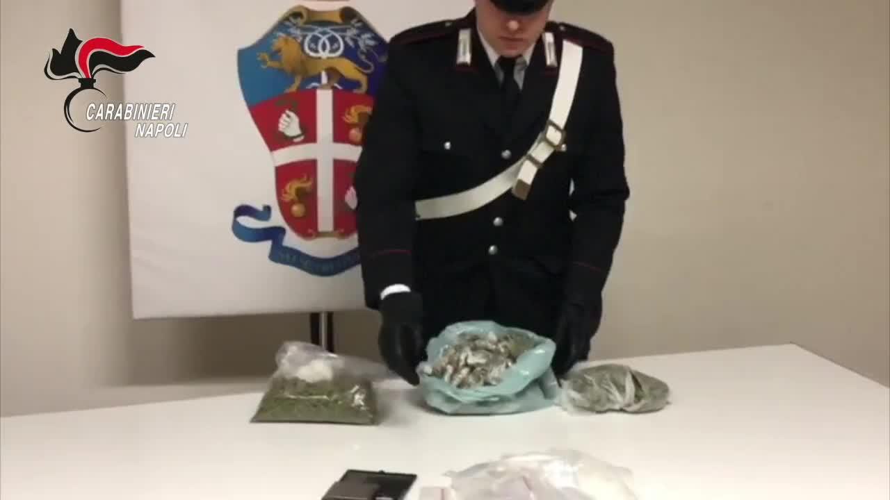 Blitz dei carabinieri nel Napoletano: sequestri e arresti per droga