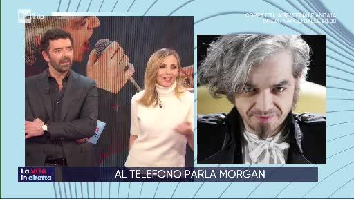 """Morgan contro il manager di Bugo a La vita in diretta: """"Soave butta benzina sul fuoco"""""""