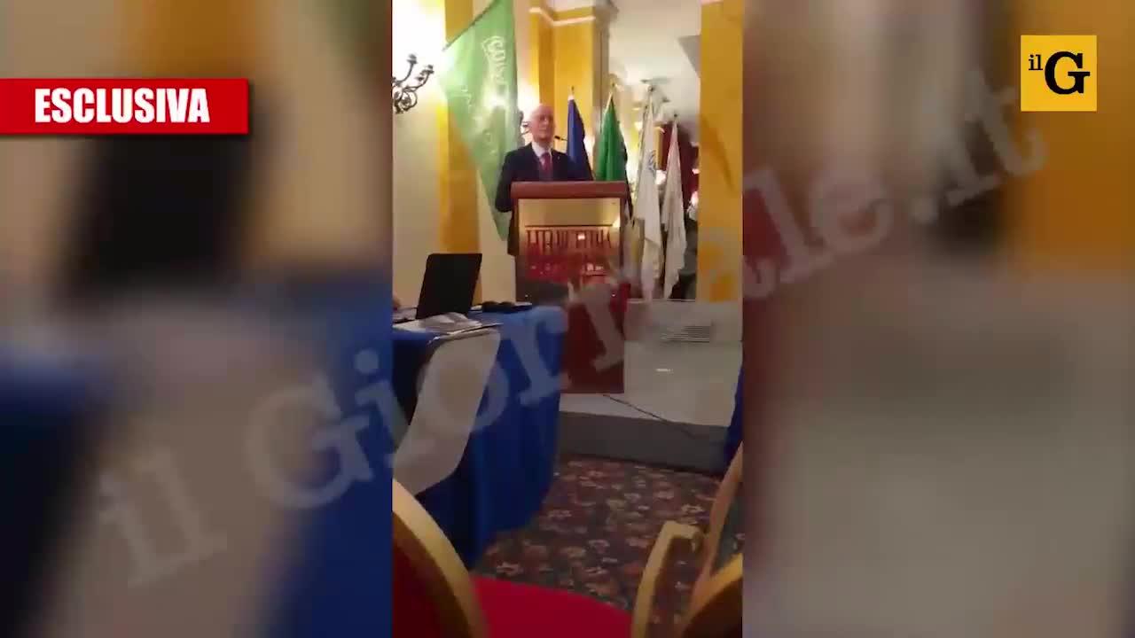 Il video esclusivo del discorso di Gabrielli contro Salvini