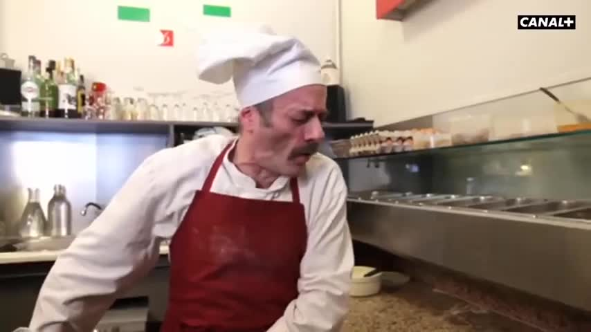Video Choc Della Tv Francese In Italia Pizza Al Coronavirus