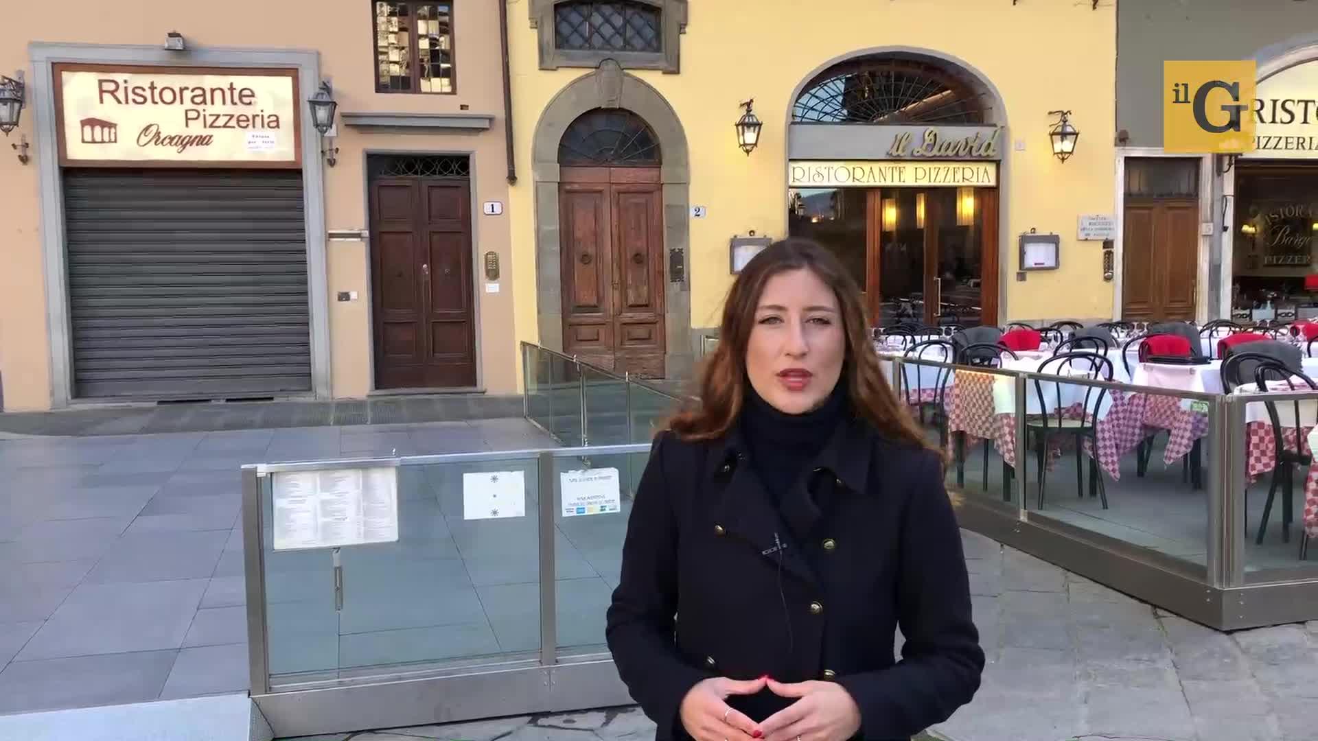 Firenze, commercianti in crisi a causa del Coronavirus