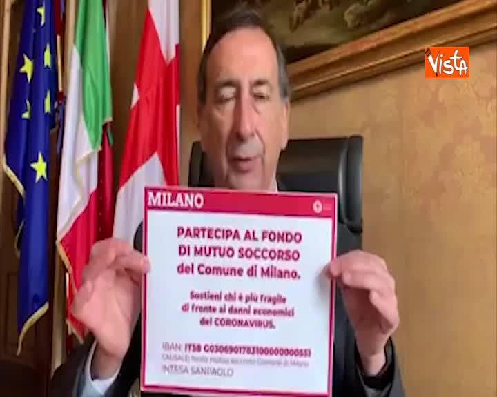 """Sala: """"Da domani a Milano chiusi tutti i parchi recintati"""""""