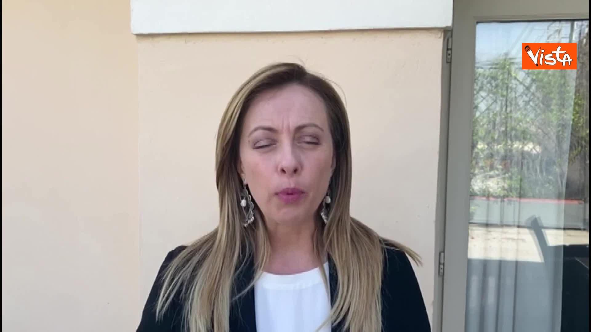 """Meloni: """"FdI ha incontrato associazioni di categoria per portare loro istanze in Parlamento"""""""