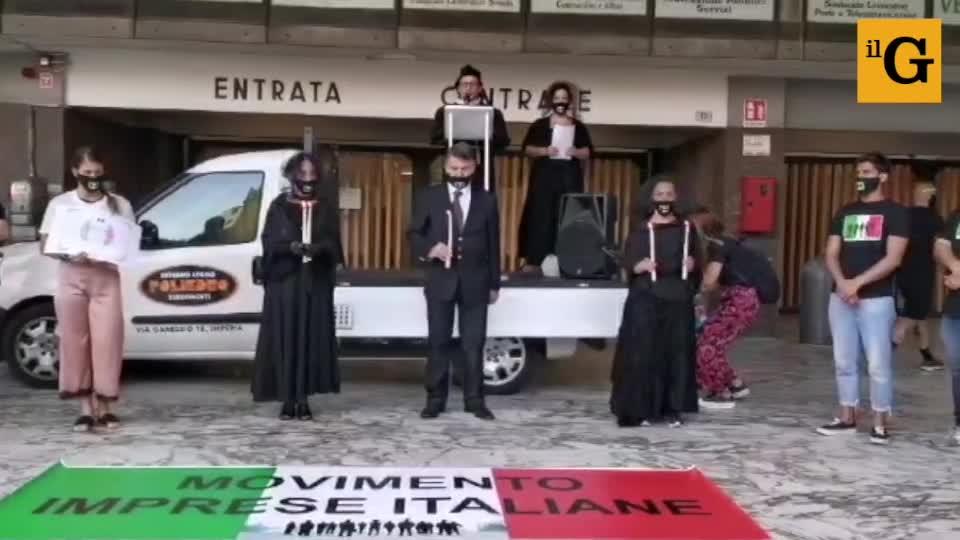 Sanremo la rabbia delle partite iva e il funerale delle imprese