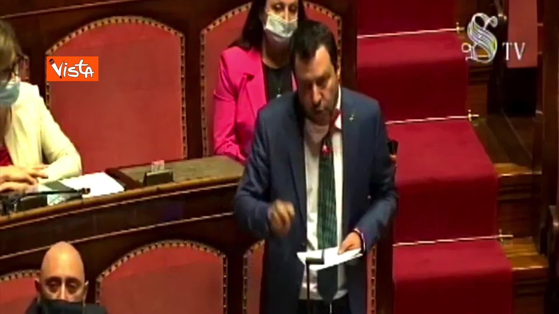 "Salvini: ""Stop contributi Italia a Oms se non tutela salute cittadini italiani"""