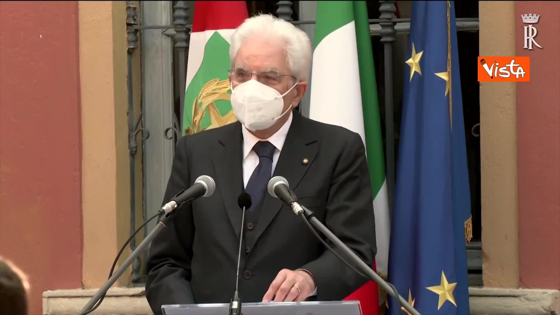"""2 Giugno, Mattarella: """"Oggi a Codogno si ritrova la Repubblica"""""""