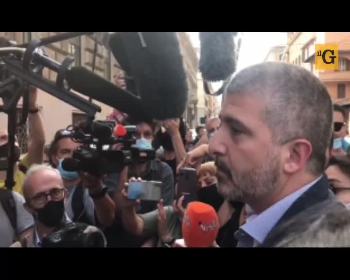"""Casapound, Di Stefano: """"Ci sgomberano? La Raggi ha bisogno di recuperare voti a sinistra"""""""