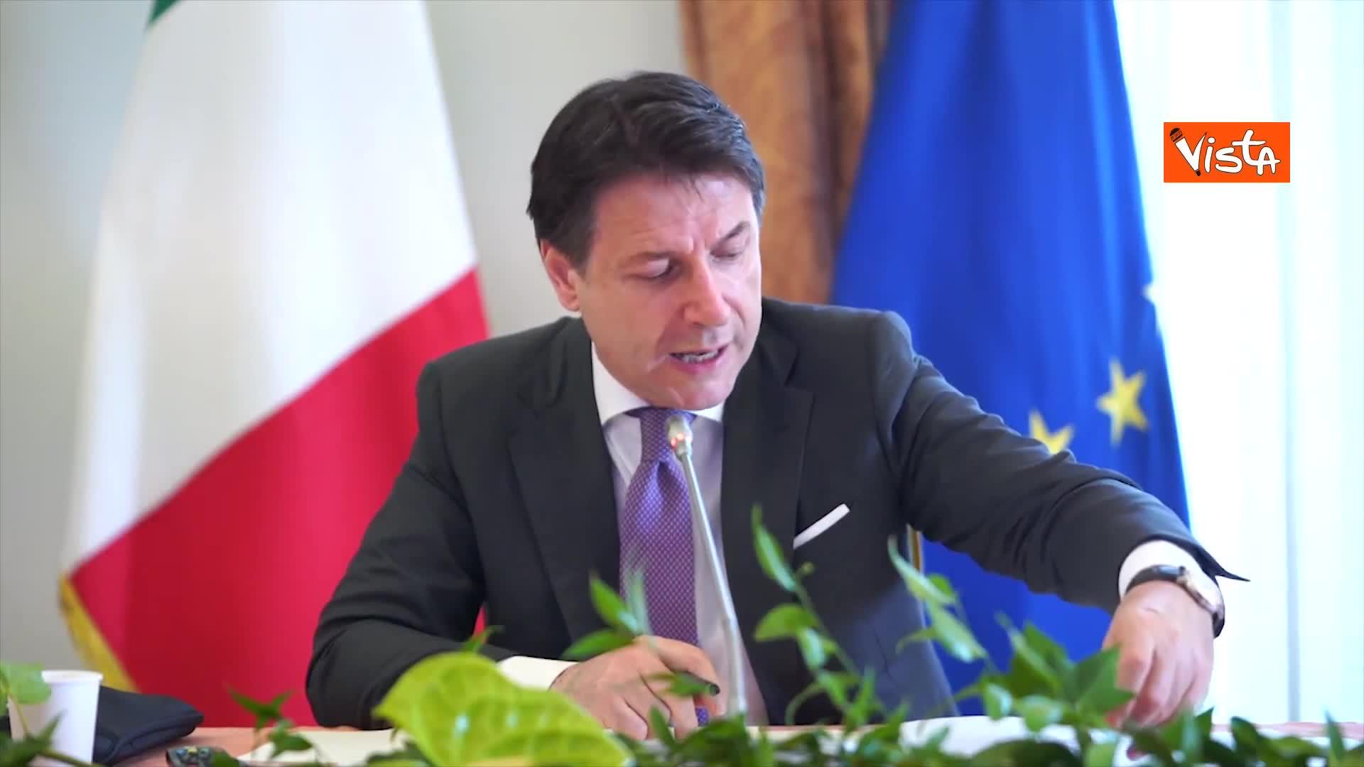 """Conte apre gli Stati Generali: """"Investire nella bellezza dell'Italia"""""""