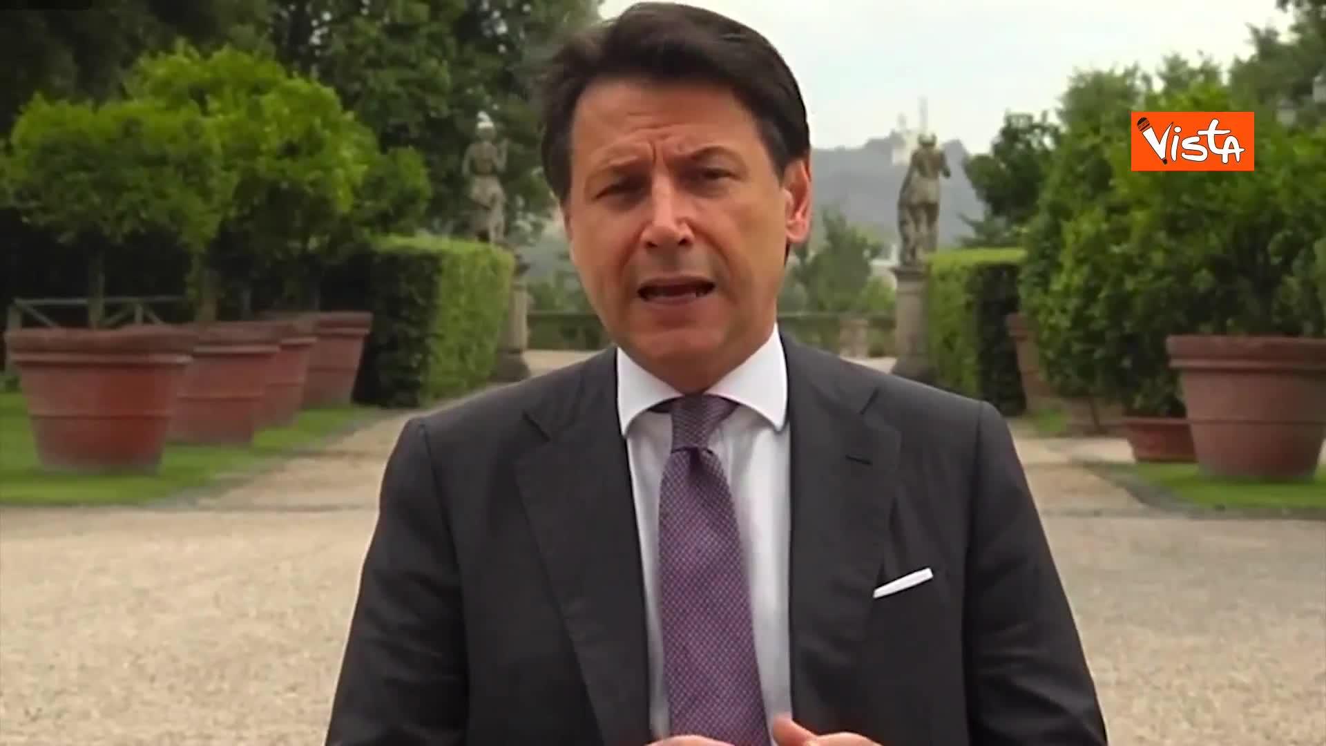 """Stati Generali, Conte: """"Non sprecheremo nemmeno un euro per rilancio"""""""
