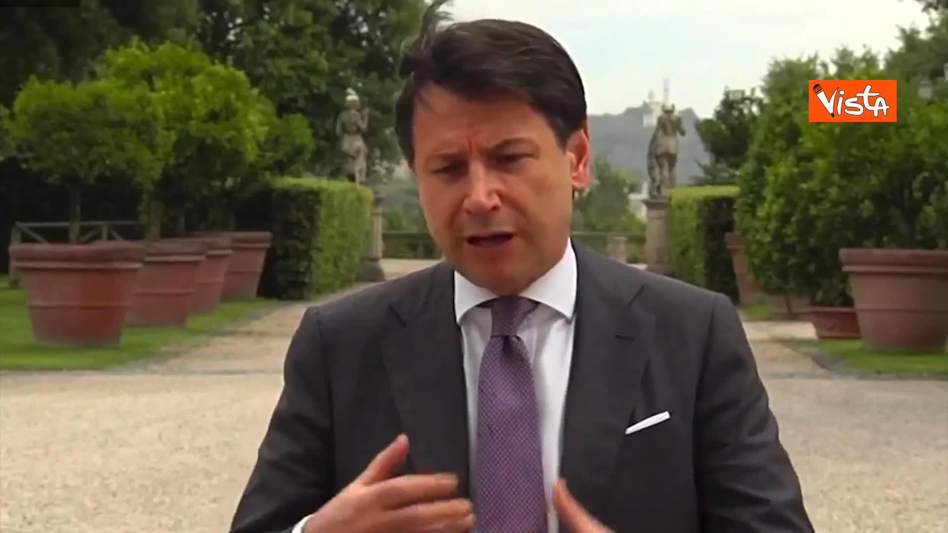 """Stati Generali, Conte: """"Rinnovo invito ad opposizioni, magari a fine iniziativa"""""""
