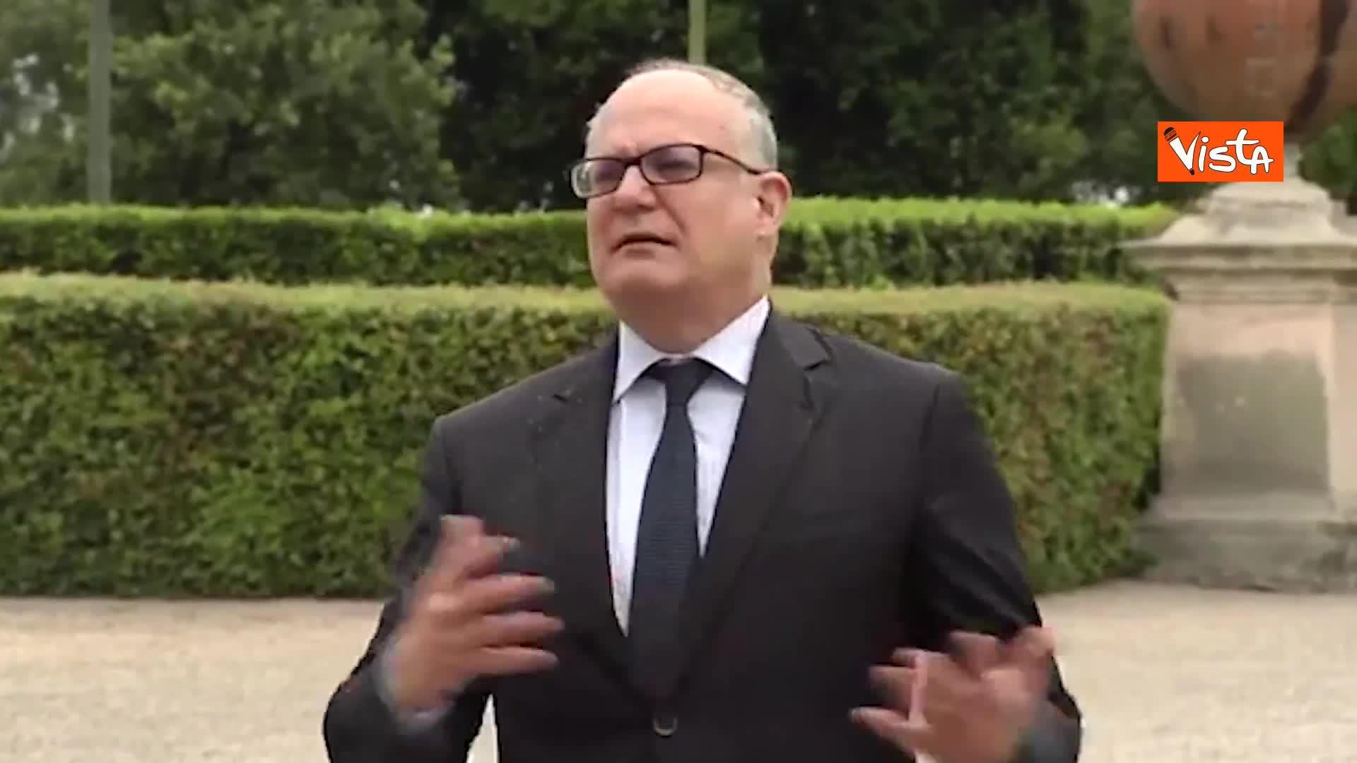 """Stati Generali, Gualtieri: """"Perno del piano saranno investimenti"""""""