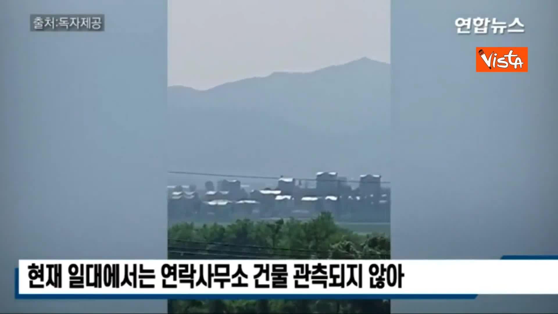 Kim distrugge la palazzina del dialogo in Corea del Nord, il video dell'esplosione