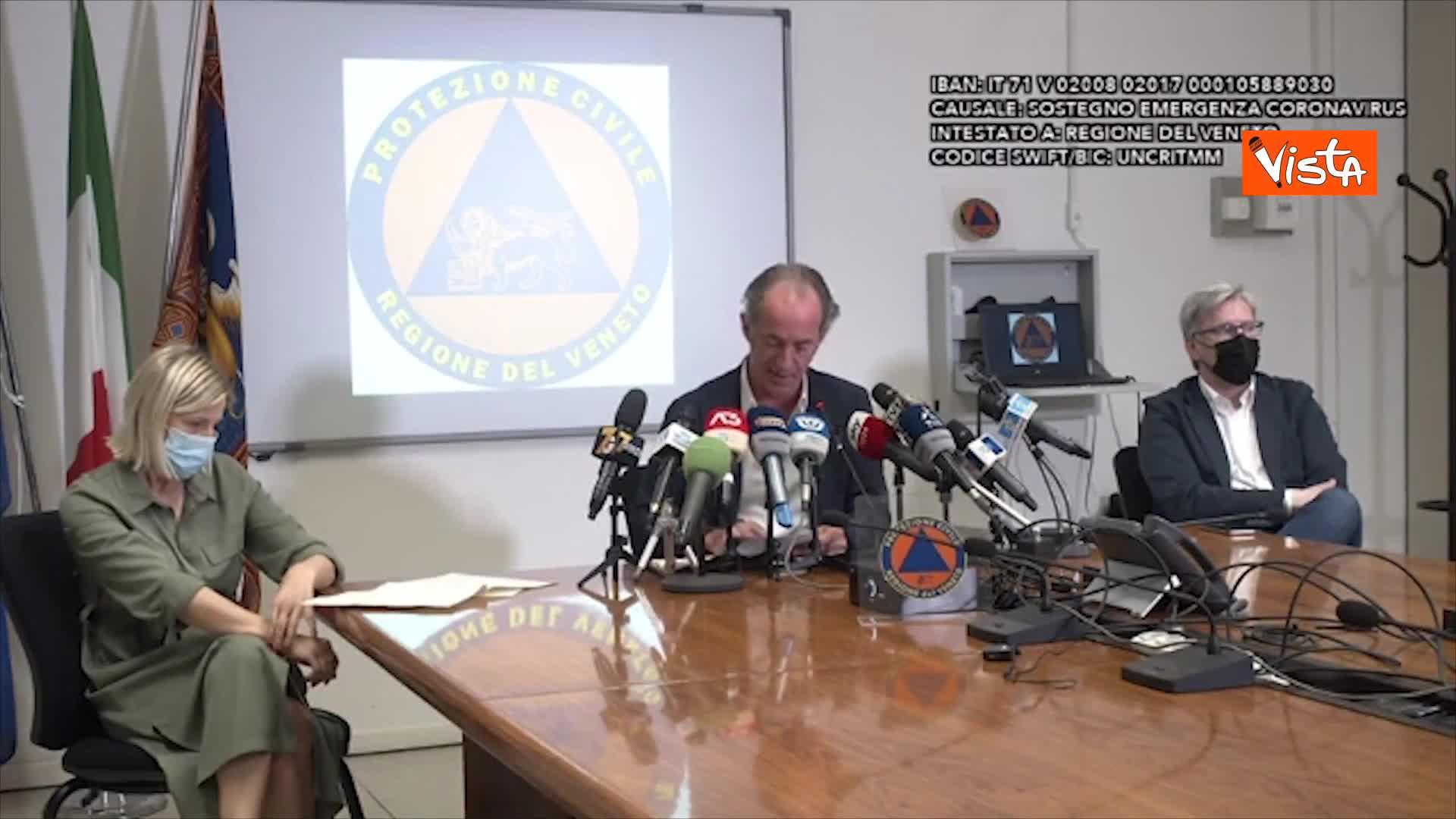 """""""Lunedì ordinanza per inasprire le misure in Veneto"""""""