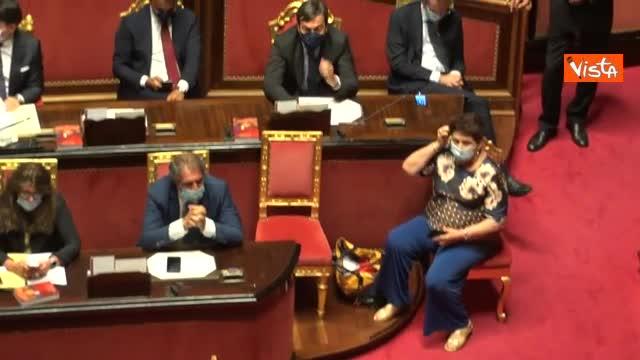 """Casellati richiama maggioranza in Aula mentre parla Salvini: """"Nessuno è stato interrotto"""""""