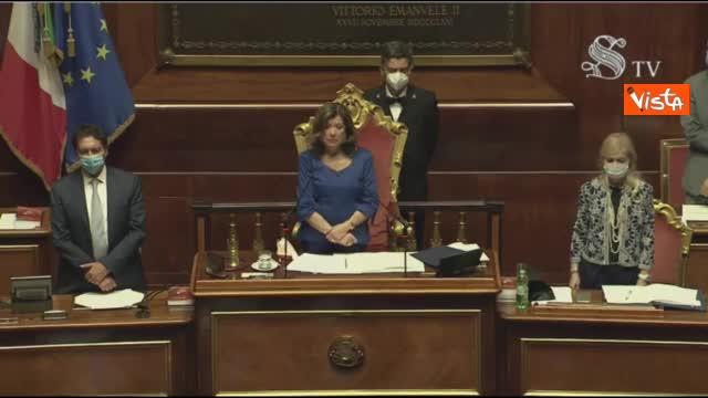 Sergio Zavoli, il minuto di silenzio e poi l'applauso del Senato per il giornalista scomparso