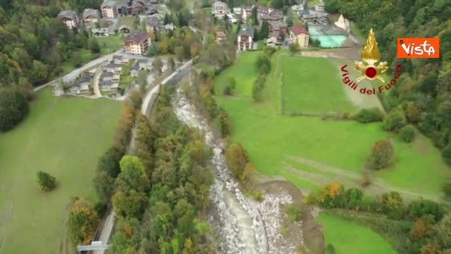 Maltempo Piemonte, il sorvolo dei droni sulle zone distrutte dall'alluvione