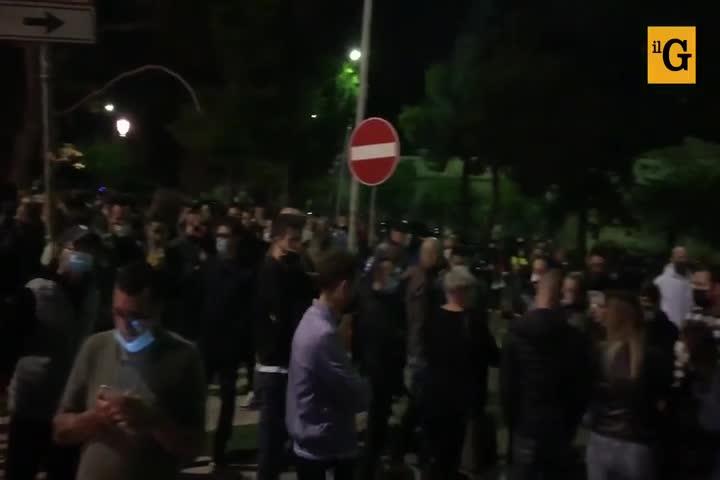 Palermo, ristoratori in corteo contro il nuovo dpcm di Conte