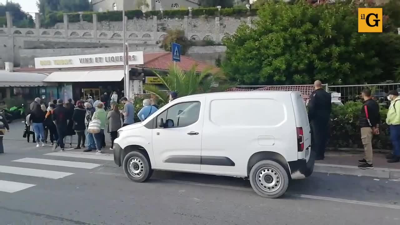 L'assalto dei francesi alle tabaccherie di Ventimiglia
