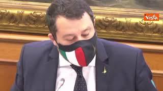 """Salvini: """"Libro di Speranza è ricercatissimo sul mercato nero, una cosa incommentabile"""""""