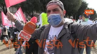 """""""Ci stanno portando all'esasperazione"""" le voci della protesta dei lavoratori al Circo Massimo"""