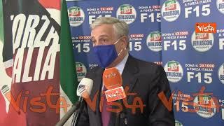 """""""Tajani """"Dal 20 aprile si possono cominciare a riaprire le attività, aiutiamo categorie soffrono"""""""
