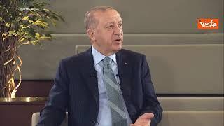"""Erdogan: """"Parole Draghi su di me di totale maleducazione"""""""