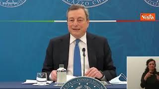 """Draghi: """"Critiche a Speranza infondate"""""""