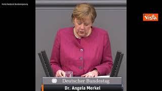 """Covid, Merkel: """"La situazione è molto seria"""""""