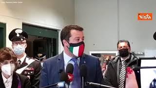"""Salvini: """"Passare per sequestratore no, mi dispiace per i miei figli"""""""