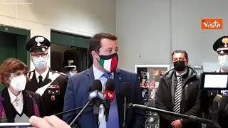 """Salvini: """"Sul banco degli imputati dovrebbe esserci qualcun altro che gioca con vita migranti"""""""