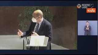 """Zingaretti: """"Pandemia ha confermato importanza sapere e conoscenza"""""""