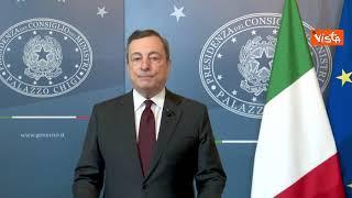 """Draghi: """"Rafforzare cooperazione globale, anche per altre pandemie"""""""