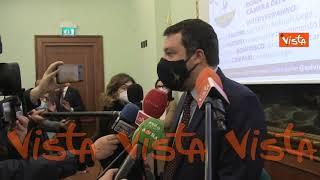 """Salvini: """"Grillo disgustoso. Chieda scusa a tutte donne italiane"""""""